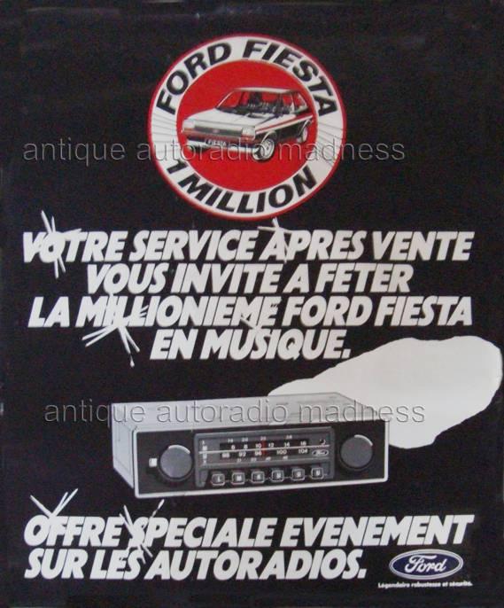 vintage ford car radios. Black Bedroom Furniture Sets. Home Design Ideas