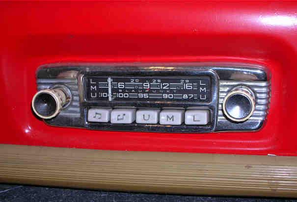 renault autoradio vintage