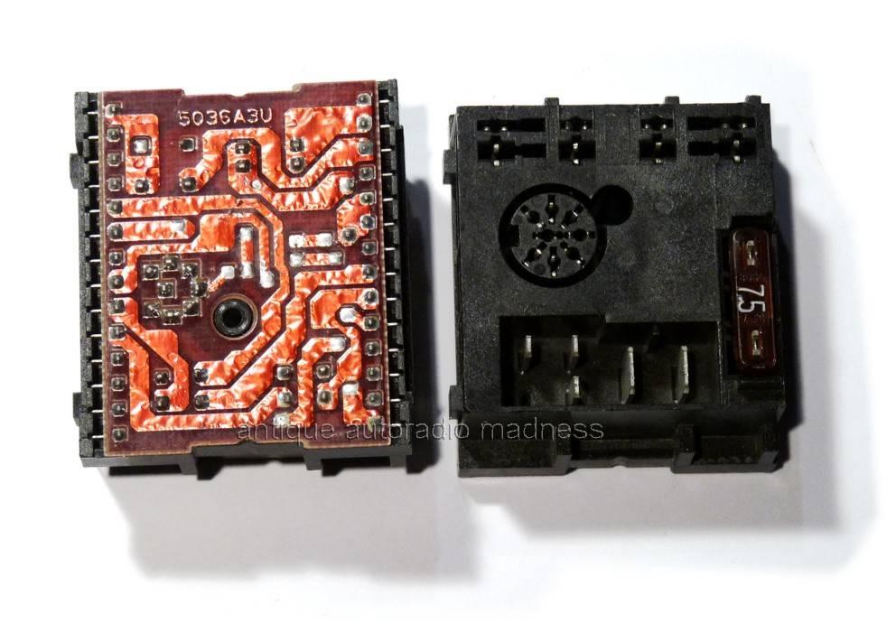 Connecteurs Iso Et Adaptateurs Blaupunkt