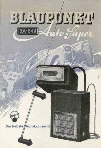 Blaupunkt 1950-52