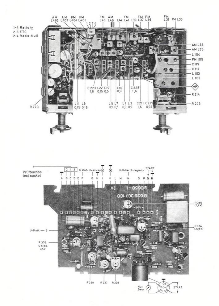 Blaupunkt Coburg Electronic 7 631 730 1971