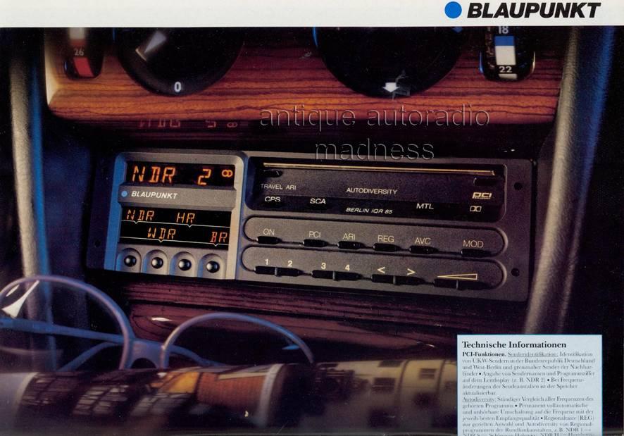 youngtimer blaupunkt 1986 kingston r24 newyork sqr05. Black Bedroom Furniture Sets. Home Design Ideas