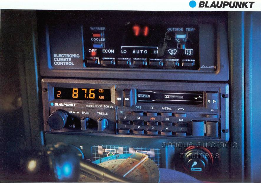 youngtimer blaupunkt bremen sqr 45 1986. Black Bedroom Furniture Sets. Home Design Ideas