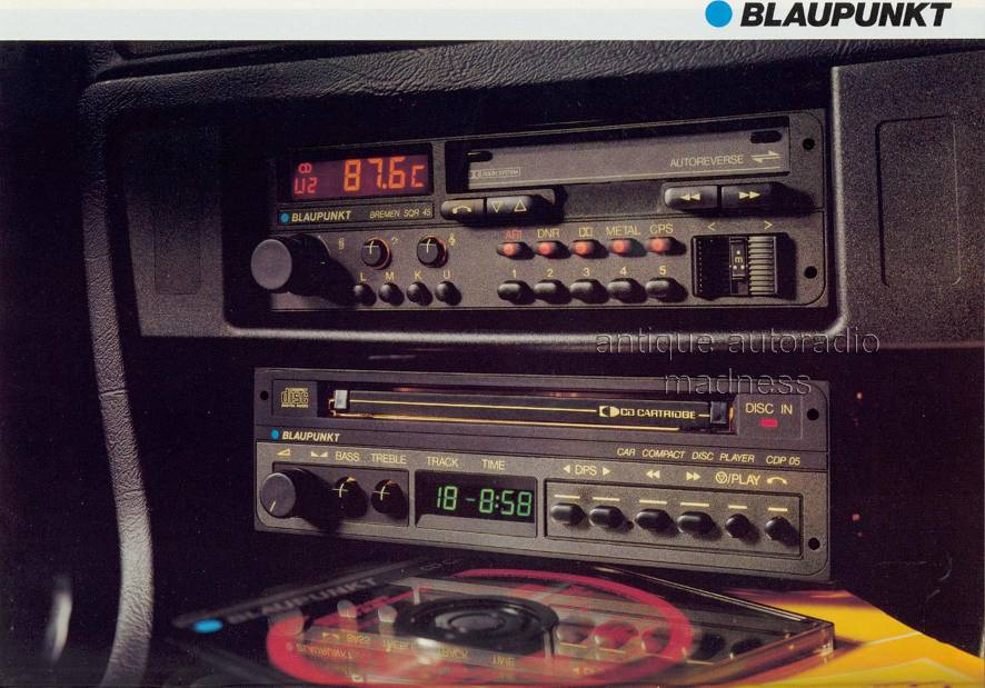 youngtimer blaupunkt frankfurt sqm 26 1986. Black Bedroom Furniture Sets. Home Design Ideas