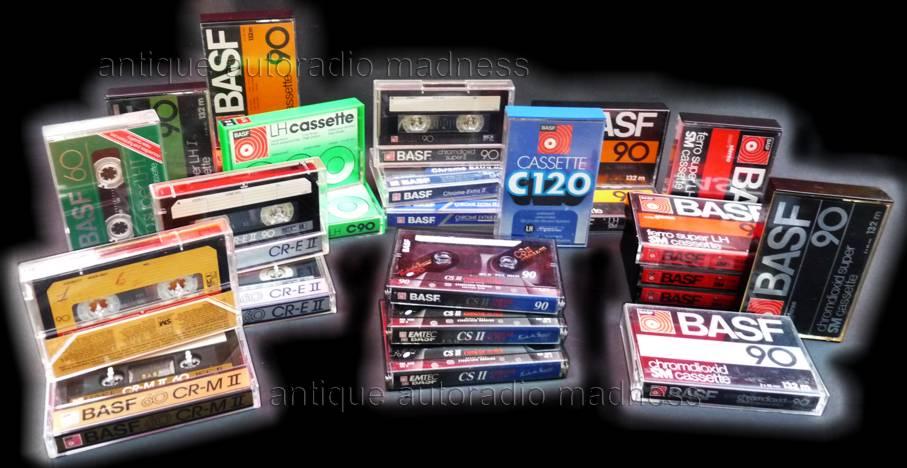 1979 BASF ferro super LH I Cassette Tapes Two Vintage