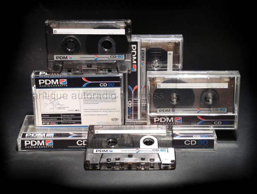 audio tape mini cassette compact cassette pdm 1