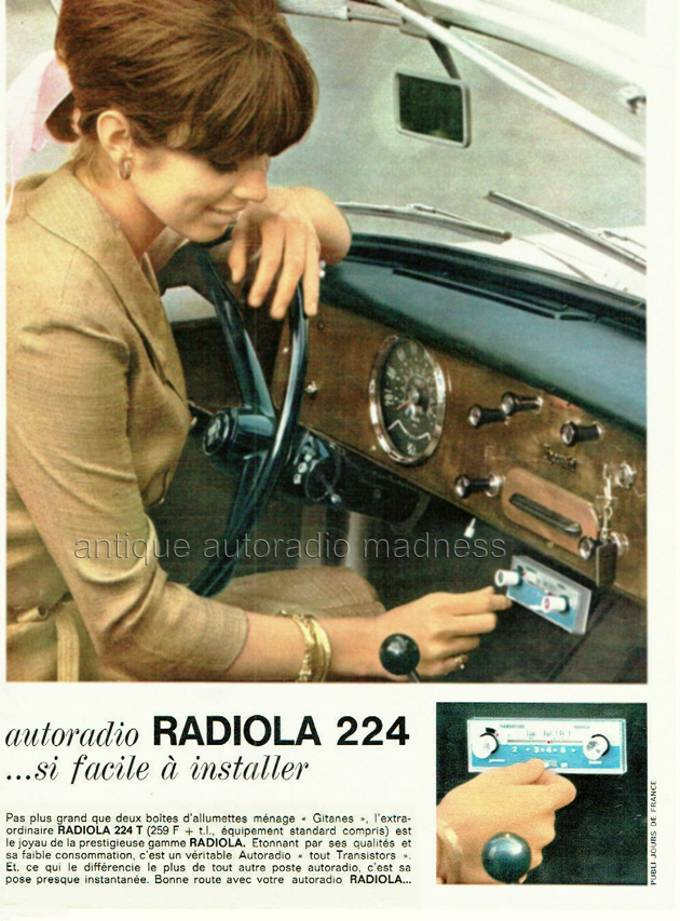 autoradio philips 1964