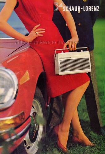 vintage itt car radio 1966. Black Bedroom Furniture Sets. Home Design Ideas