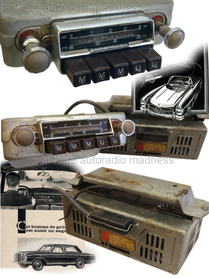 oldtimer becker car radio 1956. Black Bedroom Furniture Sets. Home Design Ideas