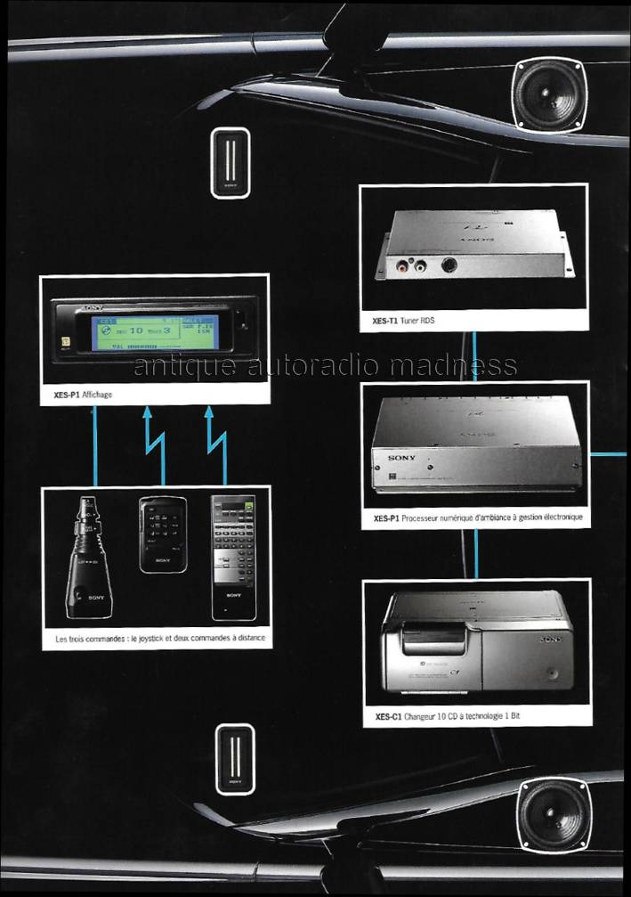 Catalogue Autoradio Excellence By Sony Vintage Mobile Es