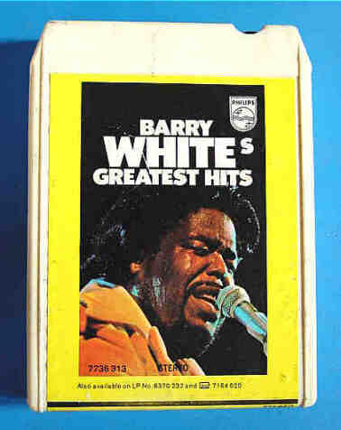 Image result for barry white 8 track