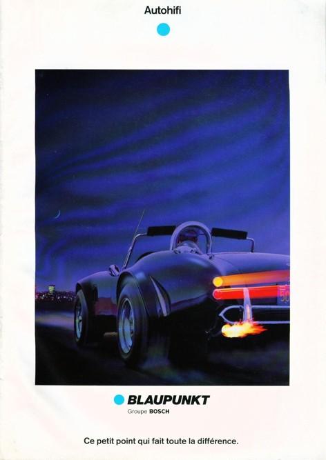 Autoradio Blaupunkt 1988