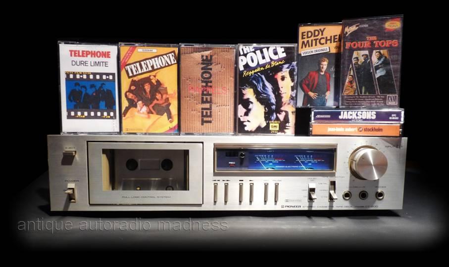 Vintage Compact Cassette Deck Pioneer Ct F950 1979