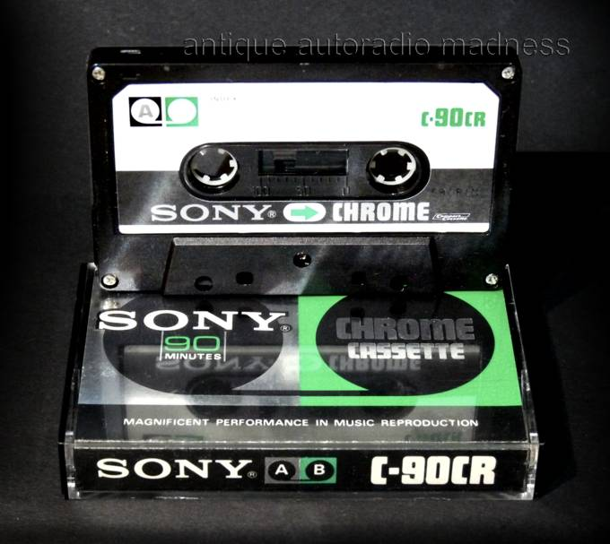 1998 SONY UX-S 90 CHROME SUPER CLASS HIGH BIAS TYPE II BLANK AUDIO CASSETTE